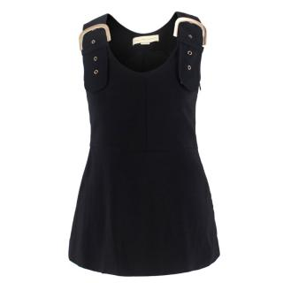 Stella McCartney Black Buckle Top