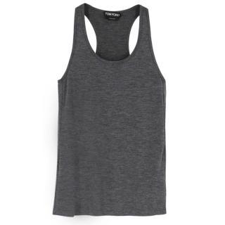 Tom Ford Grey Vest Top