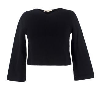 Stella McCartney V-Neck Knitted Cropped Top