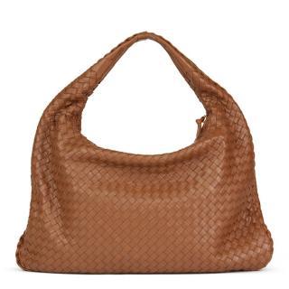 Bottega Veneta Intrecciato Leather Medium Hobo Bag