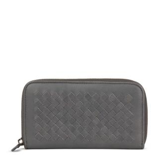Bottega Veneta Intrecciato Leather Continental Wallet