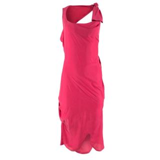 Vivienne Westwood Open-Back Knot Dress