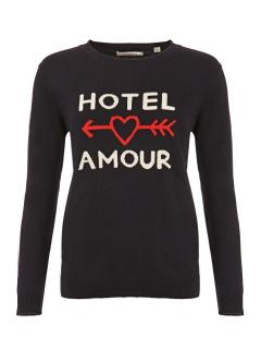 Chinti & Parker Hotel Amour cashmere jumper