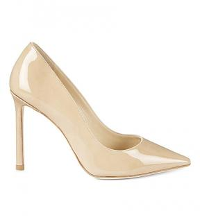 Jimmy Choo point-toe patent leather pumps