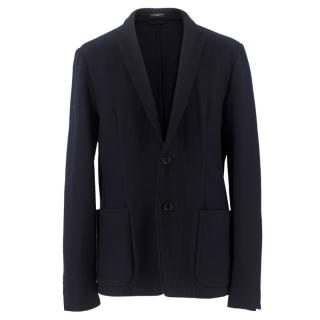 Costume National Homme Navy Wool Blazer
