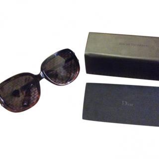 Dior Homme tortoiseshell sunglasses