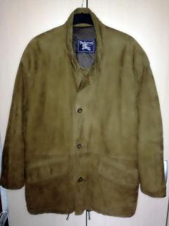 Burberrys' Prorsum Vintage Type A-2 Pilot Bomber Leather Jacket
