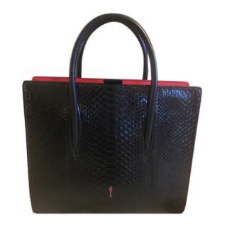 Christian Louboutin Python Crystal Paloma Medium bag