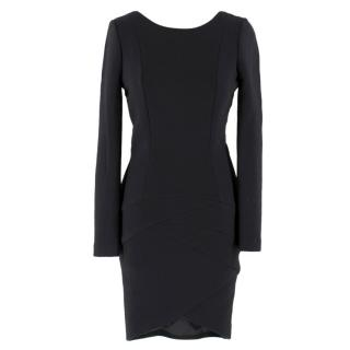 Jay Ahr Black Fitted Dress
