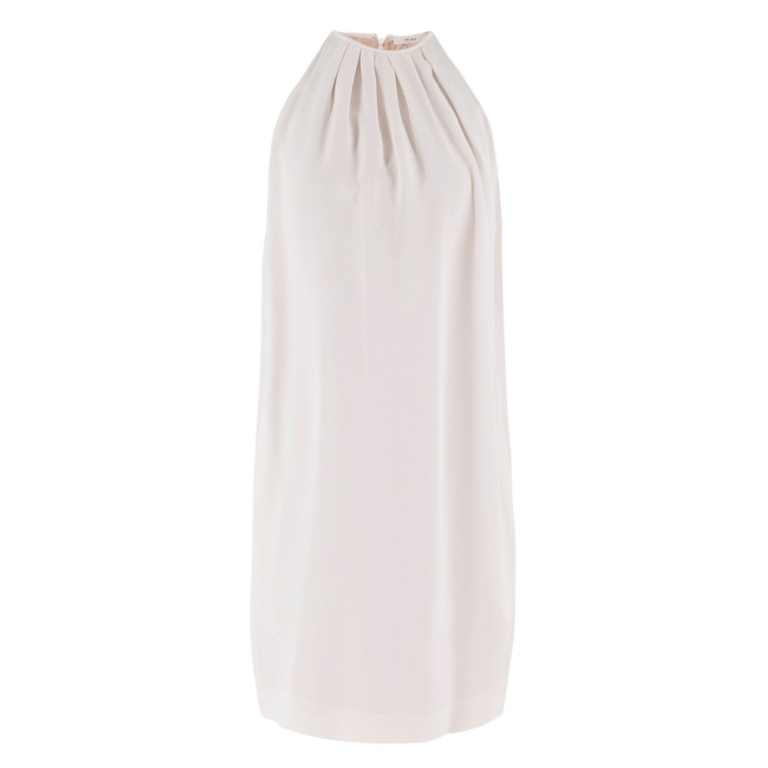 Celine Off White Draped Dress