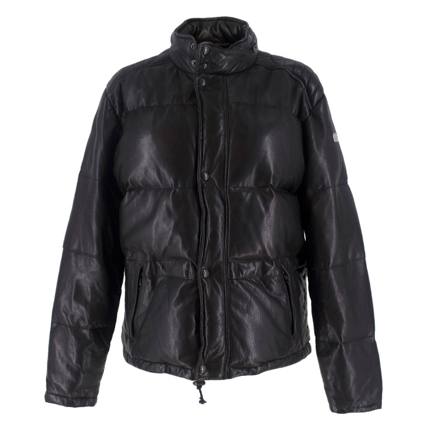 Ralph Lauren Polo Sport Collection Leather Padded Jacket