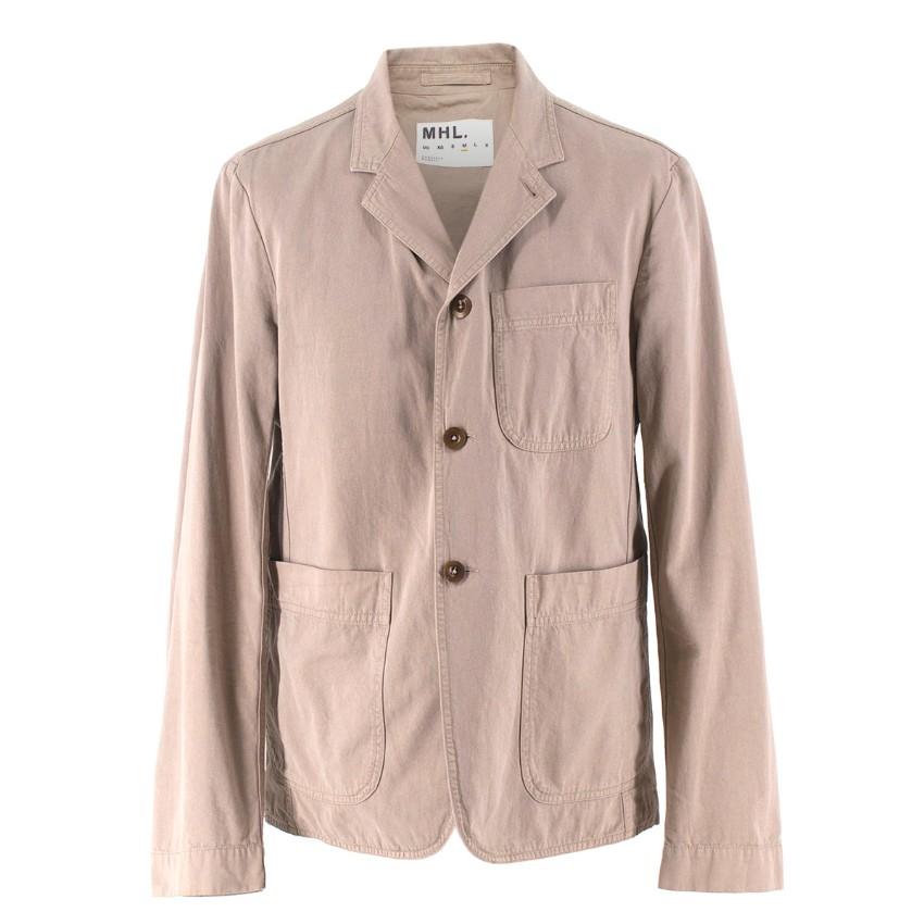 Margaret Howell Beige Lightweight Cotton Jacket