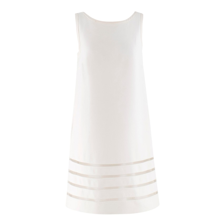 Fendi White Shift Dress