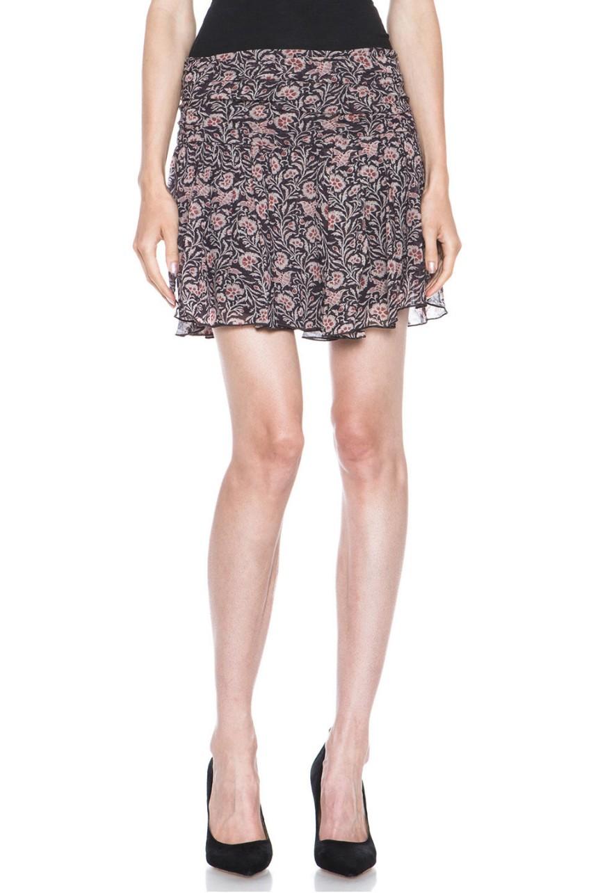 Isabel Marant Etoile 'Drune' Printed Mini Skirt