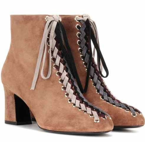 Roger VivierTressage Chunky 70 Booties