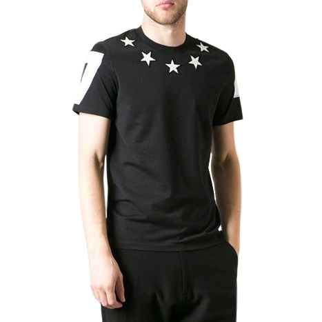 Givenchy Men's Star Patch T-shirt