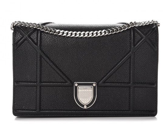Christian Dior Diorama Calfskin Wallet On Chain  4d4451381e068