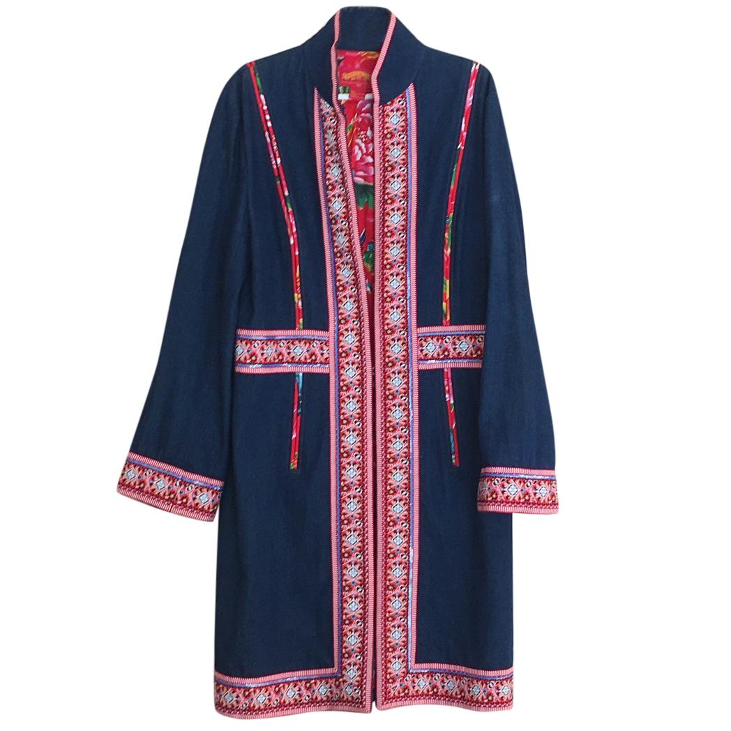 Shanghai Tang denim coat