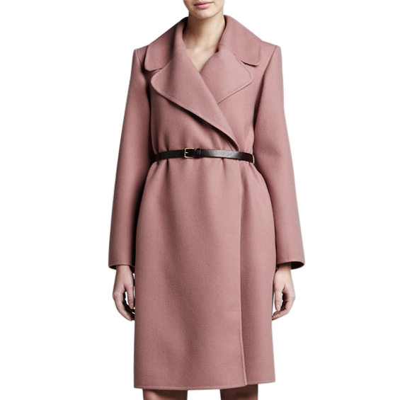 Marc Jacobs double-faced cashmere wrap coat