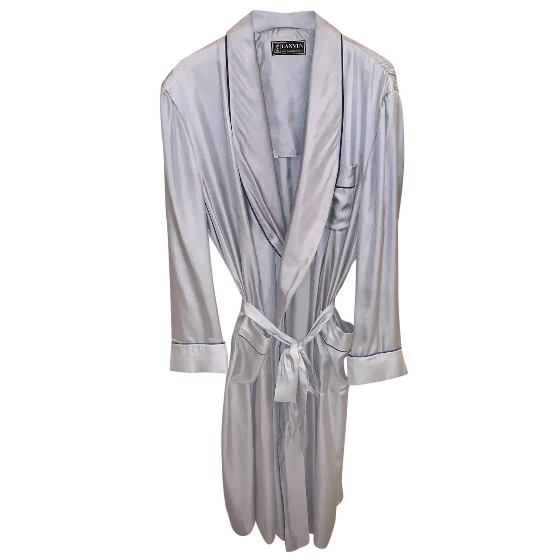 Lanvin silk dressing gown