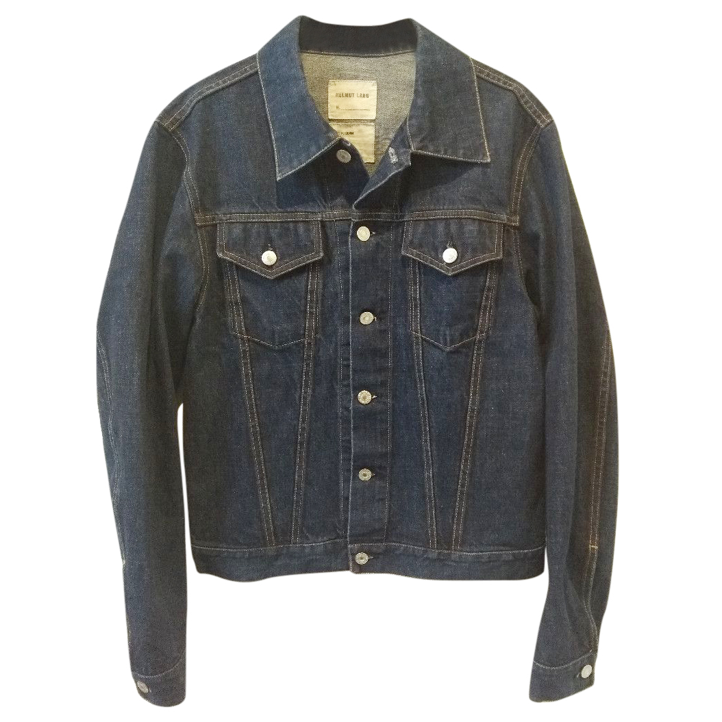 Helmut Lang blue denim jean jacket