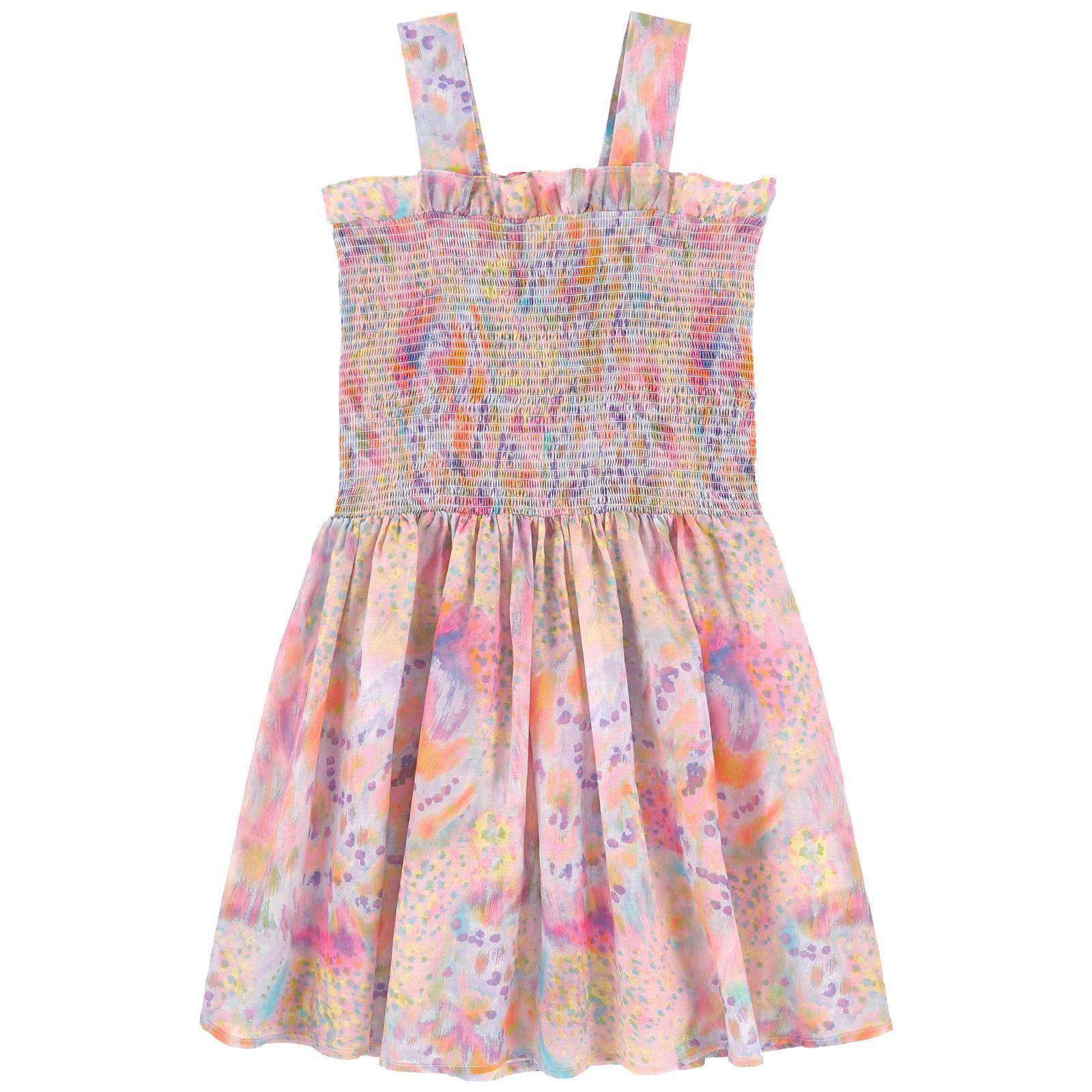 Stella McCartney 'Paloma' Kids Smocked Dress