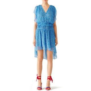 The Kooples Blue Floral Dress