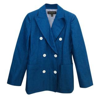 Louis Vuitton Linen and Cotton Blend Jacket.