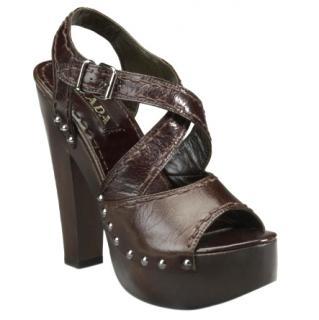 Prada clog sandals