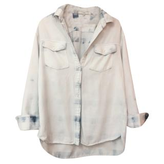 IRO denim tie dye shirt