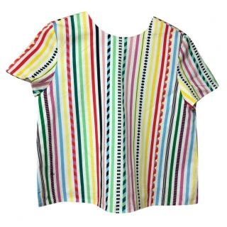 Mira Makati striped mutli-coloured top