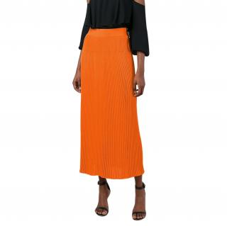 Sonia Rykiel rainbow pleated maxi skirt