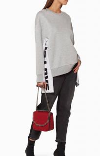 Stella McCartney All is Love Oversized Sweatshirt in Grey