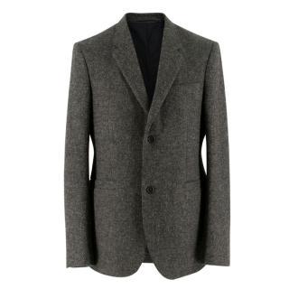 Margaret Howell Grey Wool Tweed Blazer