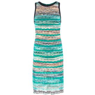 Missoni Knit Patterned Sleeveless Dress