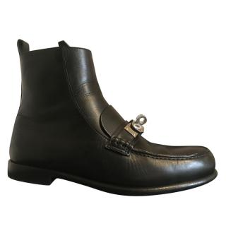 Hermes Kelly Double Tour Boots
