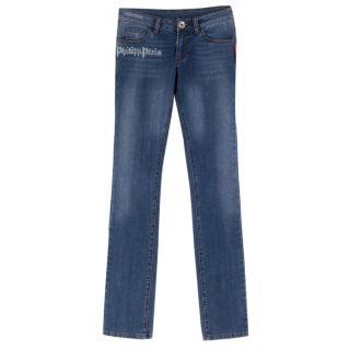 Philipp Plein Diamante 'Rock' Slim Fit Jeans