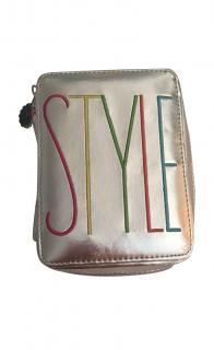 Lulu Guinness Metallic Style Clutch Bag
