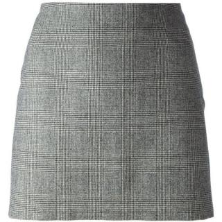 Dsquared2 Prince Charles check mini skirt