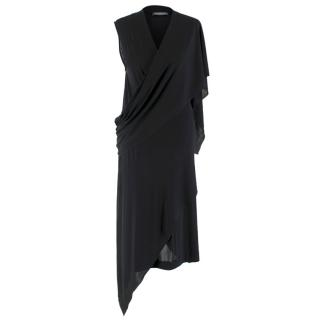 Alexander McQueen Black Versatile Wrap Dress