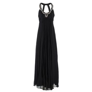 Temperley Black Embellished Gown