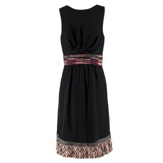 Missoni Black Embellished Sleeveless Dress