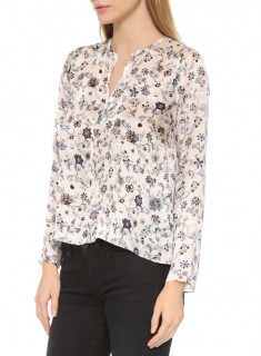 Club Monaco Aldabella Silk Blouse