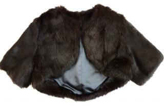 Bespoke Cropped Rabbit Fur Jacket