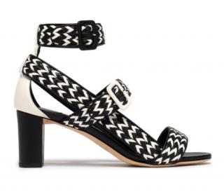 Jimmy Choo Bi-Colour Sandals