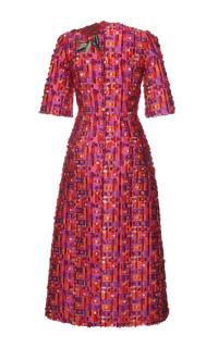 Dolce & Gabbana Fil Coupe Catwalk Dress