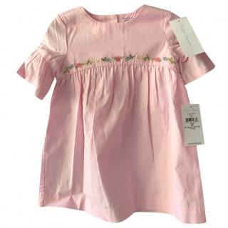 Ralph Lauren Girls' Embroidered Dress & Bloomers Set - Baby
