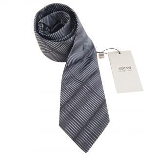 Armani Collezioni printed tie