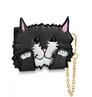 Louis Vuitton x Grace Coddington Cat Card Holder