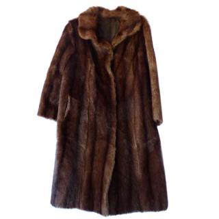 Blumarine Mink Fur Coat